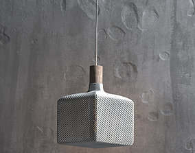 3D printable model CUBE HONEYCOMB LAMPSHADE