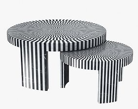 Made good carlotta marble table 3D