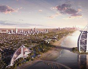 Burj Al Arab Hotel 3D