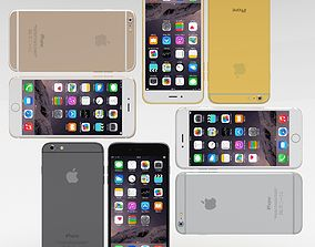 iPhone 6 Plus All Pack 3D asset