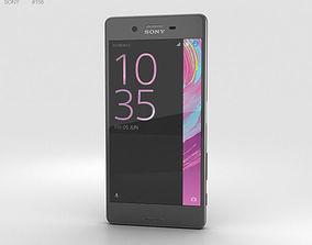 3D model Sony Xperia X Graphite Black