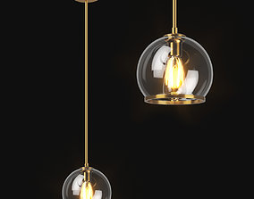 729011 Sferico Lightstar ceiling chandelier 3D