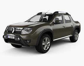 3D model Renault Duster Oroch BR-spec 2015