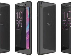 3D model Sony Xperia E5 black
