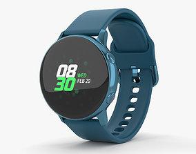Samsung Galaxy Watch Active Green 3D model