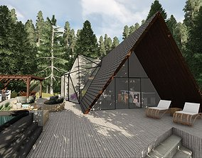 3D cabindream Mountain cabin