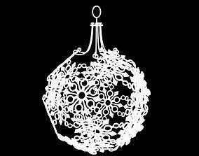 3D print model Snowflake Christmas Ornament