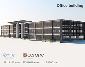 exterior 3D Office building
