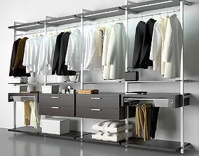 3D open wardrobe