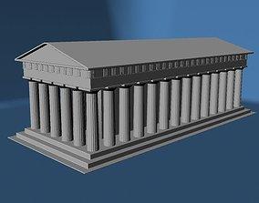 3D print model Greek Temple