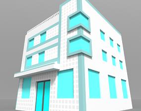 3D model Voxel Miami Hotel 1