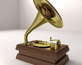 3D model Gramaphone