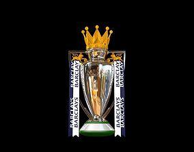 English Premier League Trophy 2015-2016 3D