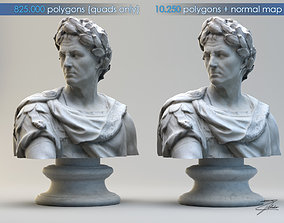 Caius Julius Caesar bust 3D model