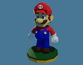 3D print model Super Mario Low Poly