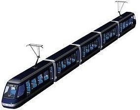 tramway 3D model