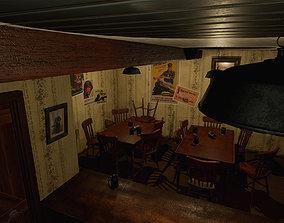 3D model Historic American Bar