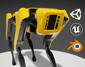 Robot Dog 3D asset