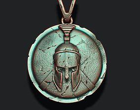 Spartan Helmet Shield 3D printable model