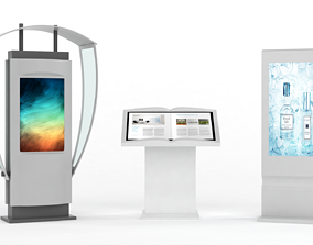 3D Information Kiosk electronic