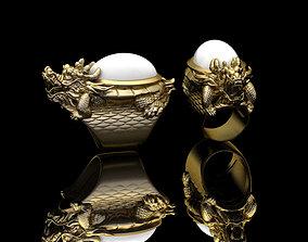 Dragon Ring3 3D print model