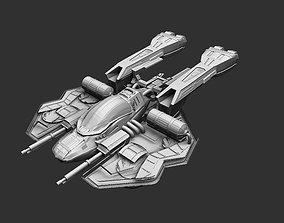 Spaceship 3D print model spaceship