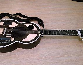 3D print model Guitar