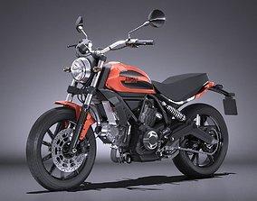 Ducati Scrambler Sixty2 2016 3D model