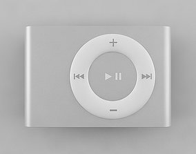 3D 2nd Generation iPod Shuffle