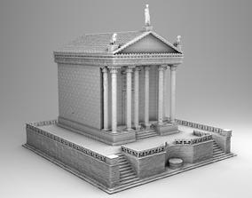 Large Greek temple 3D printable model