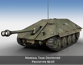 Maresal M05 - Romanian tank destroyer 3D model