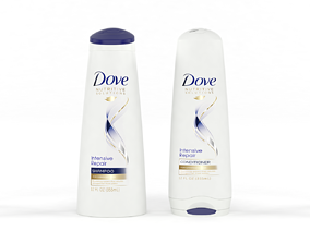 3D Dove Nutritive Solutions Shampoo and Conditioner