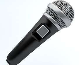 3D model microphone icon