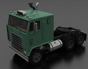 3D asset WT-9000 Semi Truck 1972