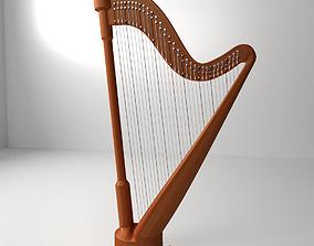 Concert Harp 3D