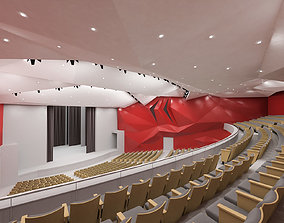 Concert Hall Interior 01 3D asset
