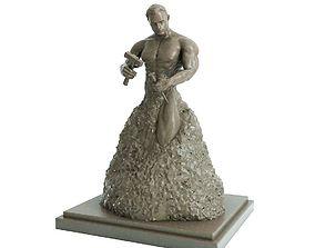 Bodybuilder Statue - Motivation - Gym - 3D print model