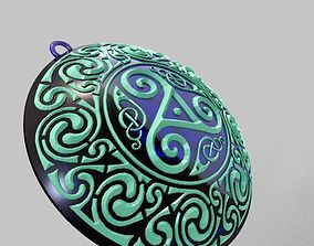 Celtic Necklace 3D print model