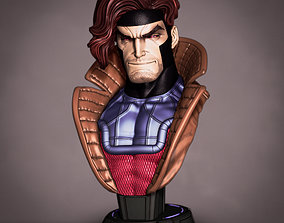 art Campbells Gambit bust 3D printable model