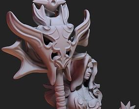 3D printable model Fantasy Fire goddess