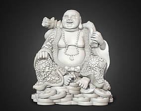 Laughing Buddha religion 3D printable model
