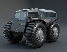 3D model Cross Country Vehicle