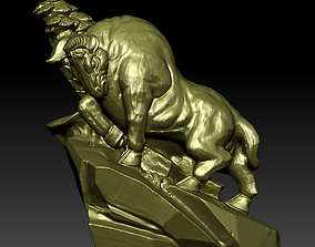 3D printable model ox Bull Sculpture