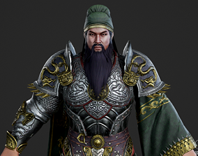3D model Generals of the Three Kingdoms in ancient China 1