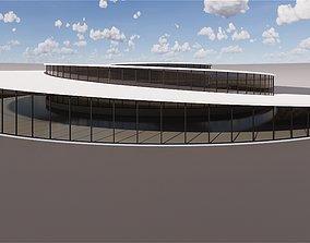 Spiral building - Big design spiral 3D