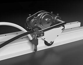 3D model Hydro Cutting Machine