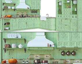 3D model Kitchen Village interior