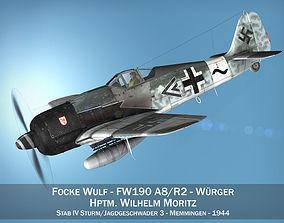 Focke Wulf - FW190 A8 - Stab IV 3D