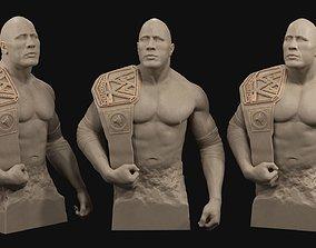 3D printable model figurines Dwayne The Rock Johnson