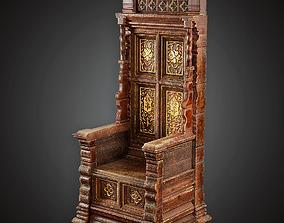 Throne - MVL - PBR Game Ready 3D asset
